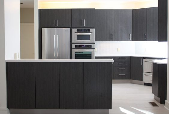Islands stainless steel and custom cabinets on pinterest - Marsh kitchen cabinets ...