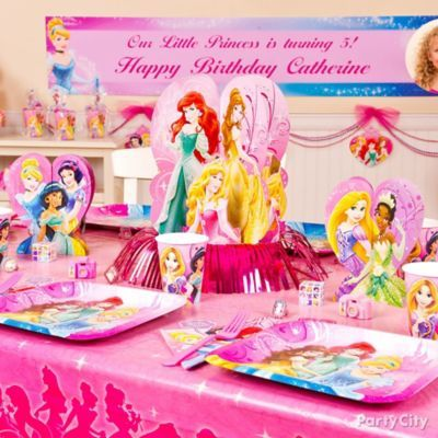 Decorate your palace for a royal Disney Princess ball!