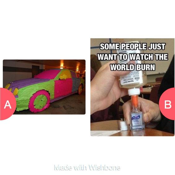 Which one is worse? Click here to vote @ http://getwishboneapp.com/share/1332642