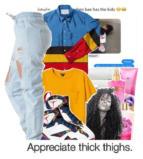 """leah143love"" by leah143love ❤ liked on Polyvore featuring Monki and xO Design"