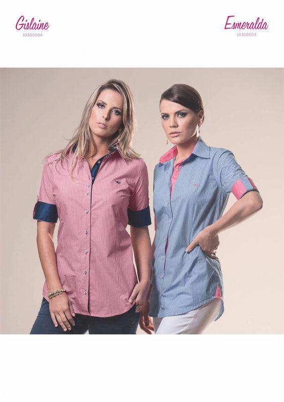 Camisa Feminina Principessa Gislaine e Esmeralda