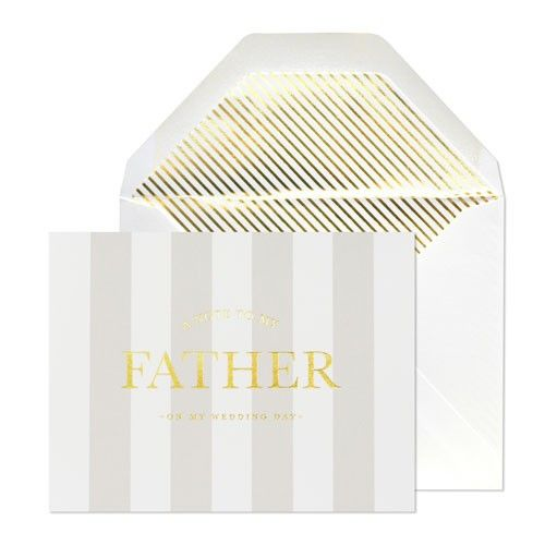 Sugar Paper Note To Father Card