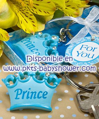 blue keychain favour chains baby key chains diana baby shower little