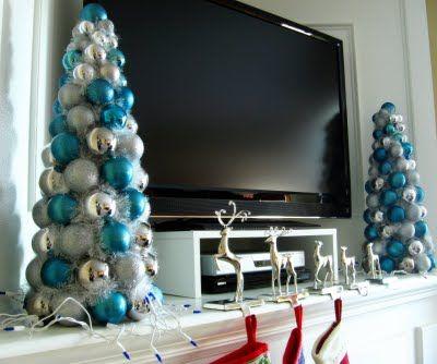 Christmas Ball trees...already got my ornaments on clearance.