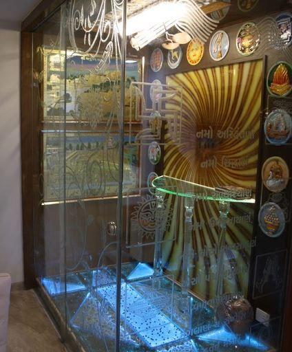 Decorate pooja room design in lavish manner pooja room for Indian ghar design
