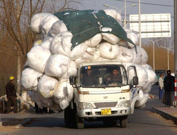 """TRUCK OVERLOAD - """"...and the little truck said, """"I think I can, I think I can..."""""""