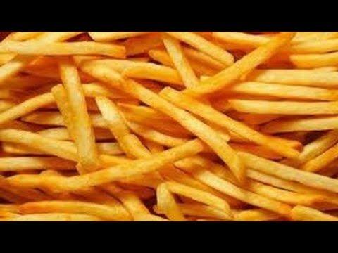 اصابع البطاطس المقرمشة جدا جدا بدون قلى الفيديو الذى تعدى المليونين مشاهدة Youtube Food Making French Fries Recipes