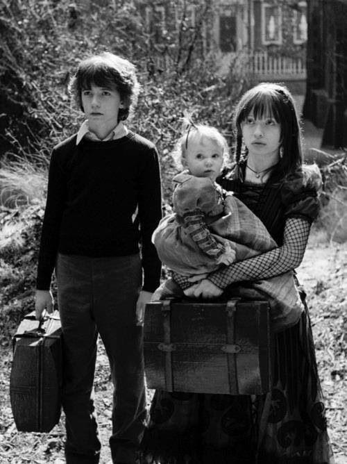 Imagem de movie, black and white, and desventuras em série