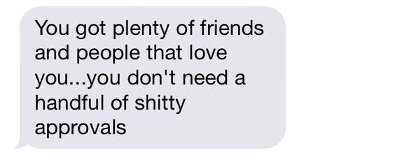 Best text I got all damn day
