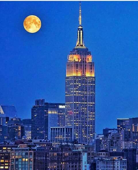 Pin By Mo Wall On Cityscapes New York City Empire State Building Travel Usa