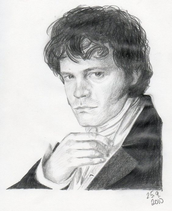 Colin Firth's Mr Darcy by Maryhavo1.