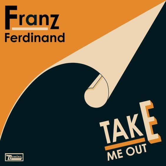 Franz Ferdinand – Take Me Out (single cover art)