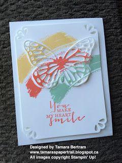 Tamara's Paper Trail: Butterfly Swipe