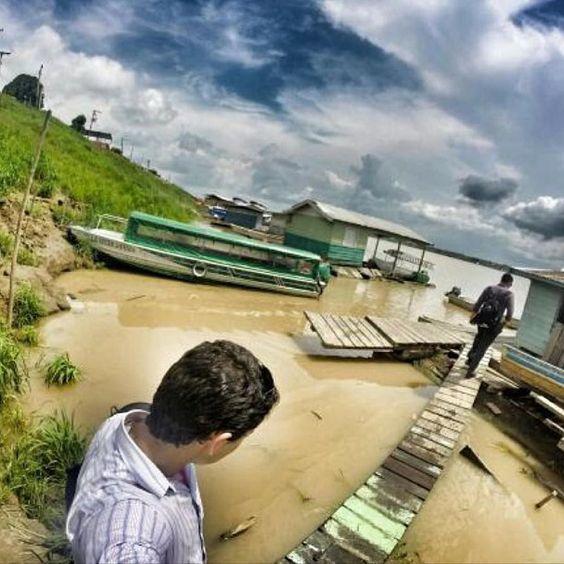 Preaching in Careiro da Várzea Amazonas Brazil. Photo shared by @srgabrielllsales