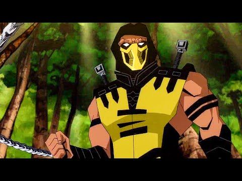 mortal kombat scorpions revenge full movie