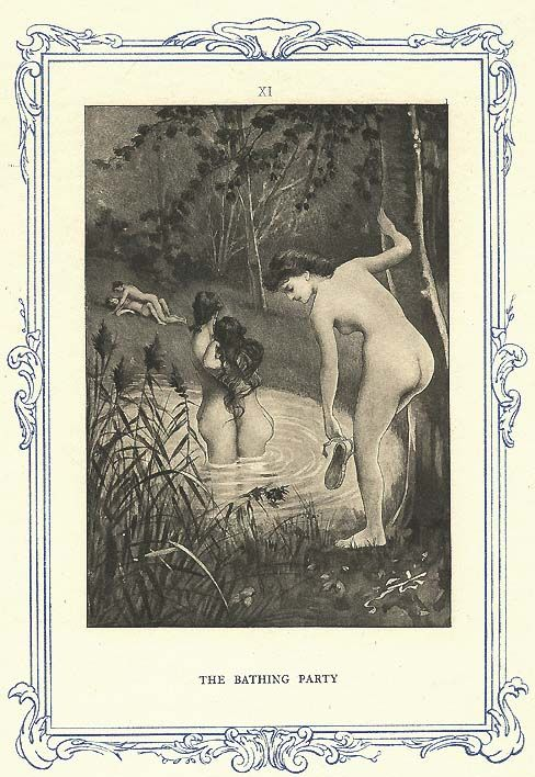 Avril Edouard-Henri (1849-1928)   ill. John Cleland. Memoirs of Fanny Hill.: