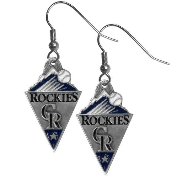 Colorado Rockies Classic Dangle Earrings