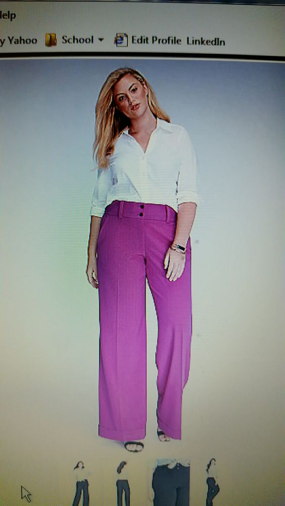 Sassy spicy orchid pant! ❤