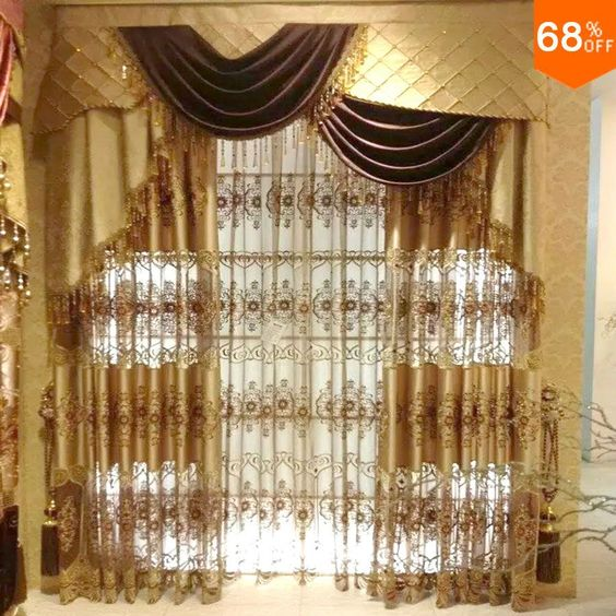 Find More Curtains Information about new Dubai Luxury magnetic ...