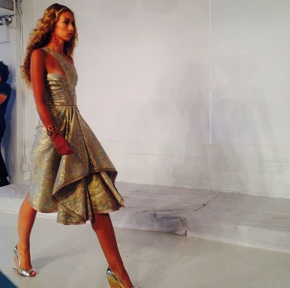 Spotted: African Brands at New York Fashion Week — Posh Africana ©