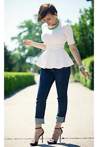 peplum- love this top:)