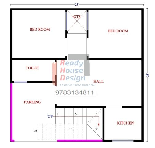 25 25 House Plan South Facing House Map 300 Sq Ft 400 Sq Ft 500 Sq Ft 600 Sq Ft 700 Sq Ft 800 Sq Ft 900 Sq Ft 1 South Facing House House Map House Plans