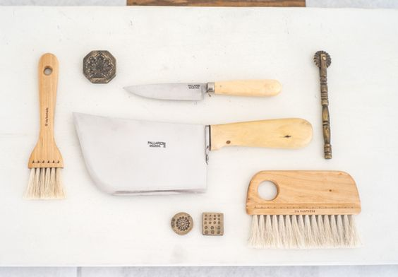 A collection of beautiful, utilitarian kitchen tools, made by hand, from boxwood, birch, white oak, maple, olive and cherry wood.