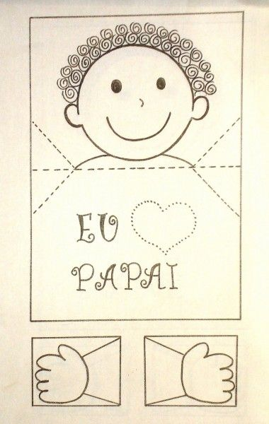 cartões dia dos pais criativo