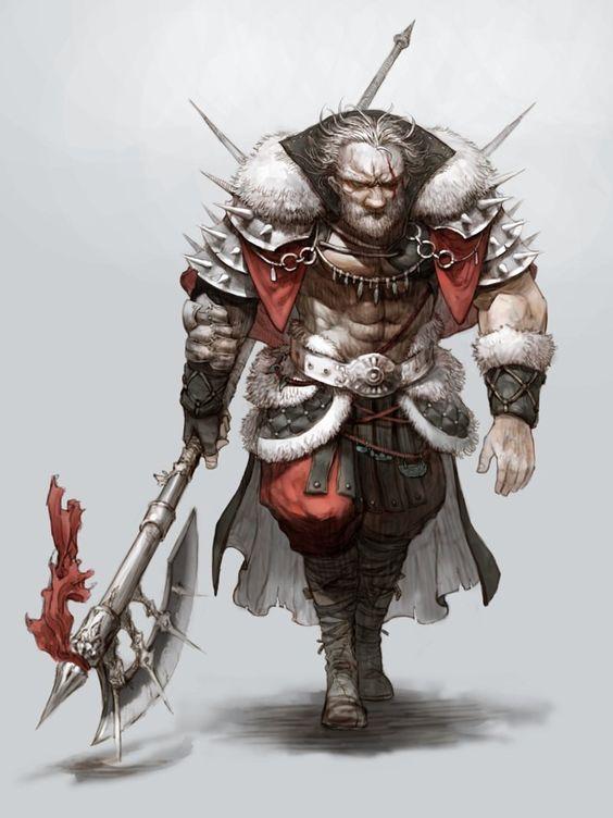 Warrior by Kyoung Hwan Kim on ArtStation.
