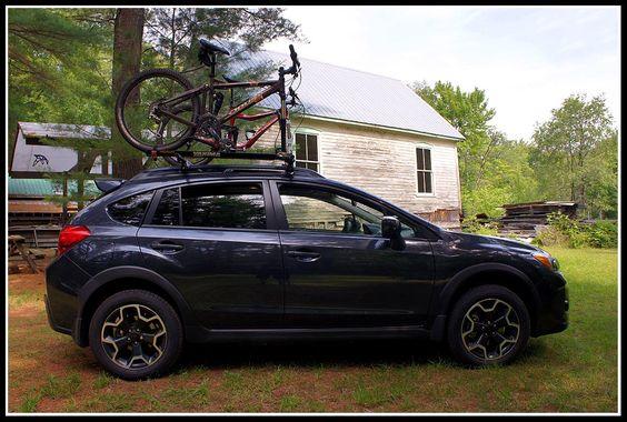 Subaru Xv Crosstrek Bike Rack Vehicle S Pinterest