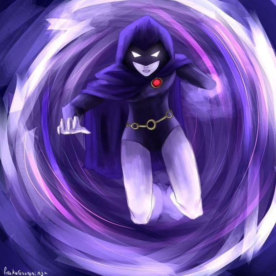 Raven - Teen Titans by freekarasunoninja