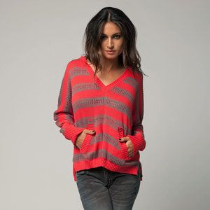 Fox Racing Trouble Shoot Womens Hoody Sweater Melon   eBay