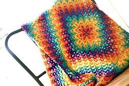 Ravelry: Bargello Blanket pattern by Lena Fedotova