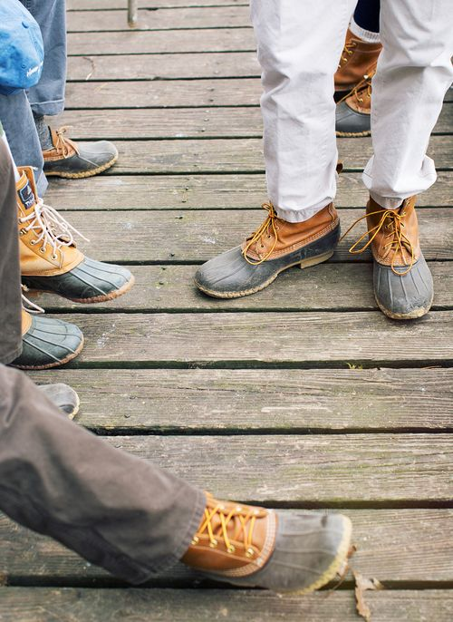 Duck boots all around