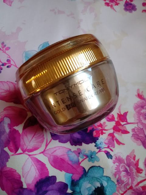 Unikitty Korean Beauty Tonymoly Intense Care Gold 24k Snail Cream Re Snail Cream Tony Moly 24k Gold