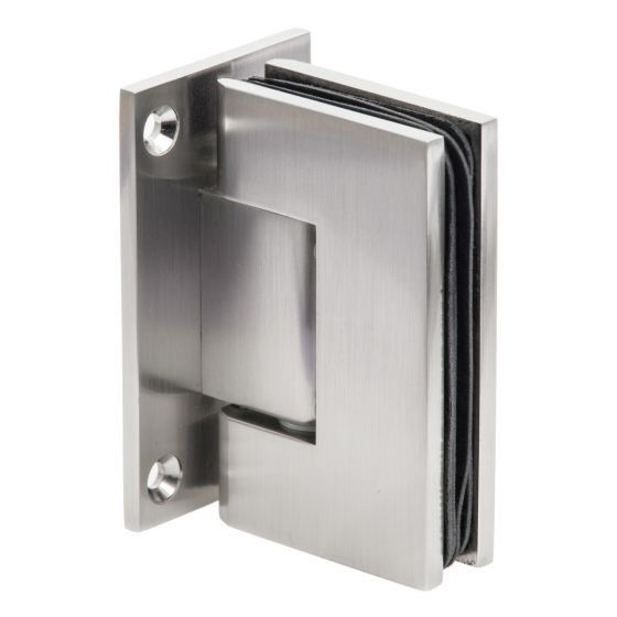 Shower Door Hinge Wall To Glass Brushed Nickel Shower Doors Glass Door Hinges Glass Hinges
