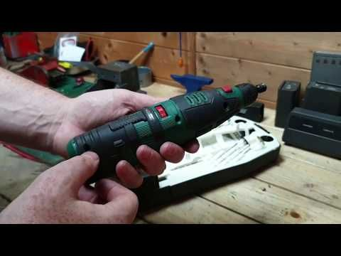 Parkside Lidl 12v Cordless Rotary Tool Youtube Rotary