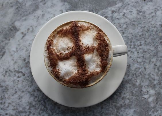 Not a tea person? No problem, a frothy cappuccino is one of our favourites and we'll happily serve you one instead of a tea.