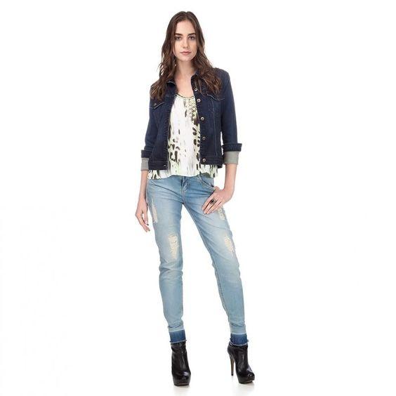 É seu preferido ?   Jaqueta Jeans Premium  COMPRE AGORA!  http://imaginariodamulher.com.br/produto/jaqueta-jeans-premium-5/ #comprinhas#modafeminina#modafashion#tendencia#modaonline#moda#instamoda#lookfashion#blogdemoda#imaginariodamulher