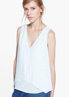 Top à superposition - Tops et t-shirts pour Femme | MANGO