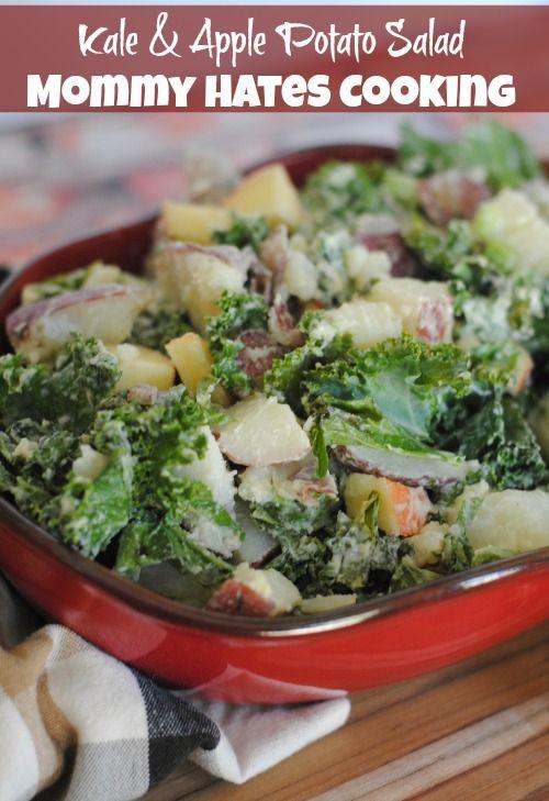 Kale & Apple Potato Salad | Recipe | Pinterest | Kale ...
