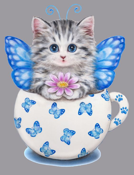 KITTY BUTTERFLY BY KAYOMI HARAI VISIT OUR WEBSITE www.lailas.com for more great images