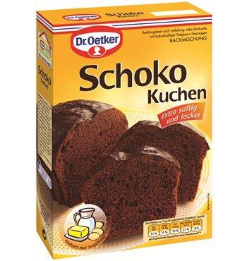 in USA- Dr.Oetker Schoko Kuchen - Chocolate Cake Mix - Made in ... | {Küchenmöbel made in germany 29}