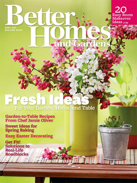 Subscribe To Better Homes Gardens Magazine Home And Garden