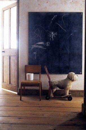 chalkboard canvas: Interior Design, Chalkboard Ideas, Children S Spaces, Children S Rooms, Playroom Ideas, Kids Rooms