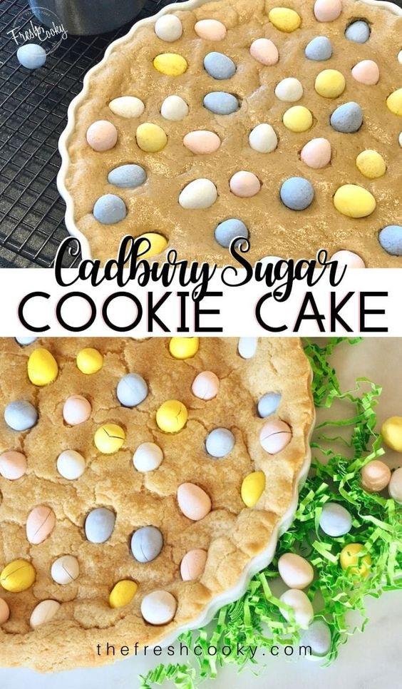 Cadbury Sugar Cookie Cake