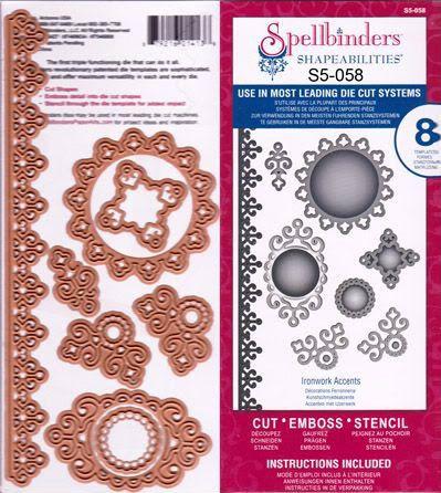 Image result for Spellbinders S5-058