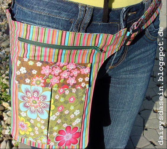 Daisys Dasein: Hüfttasche (die Kunst des Weglassens)