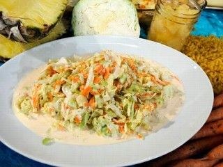 Aunt Nancy's Coleslaw- One of Guy Fieri's best diner dishes