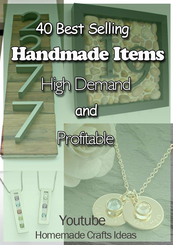 40 Best Selling Handmade Items In Internet In Highest Demand And